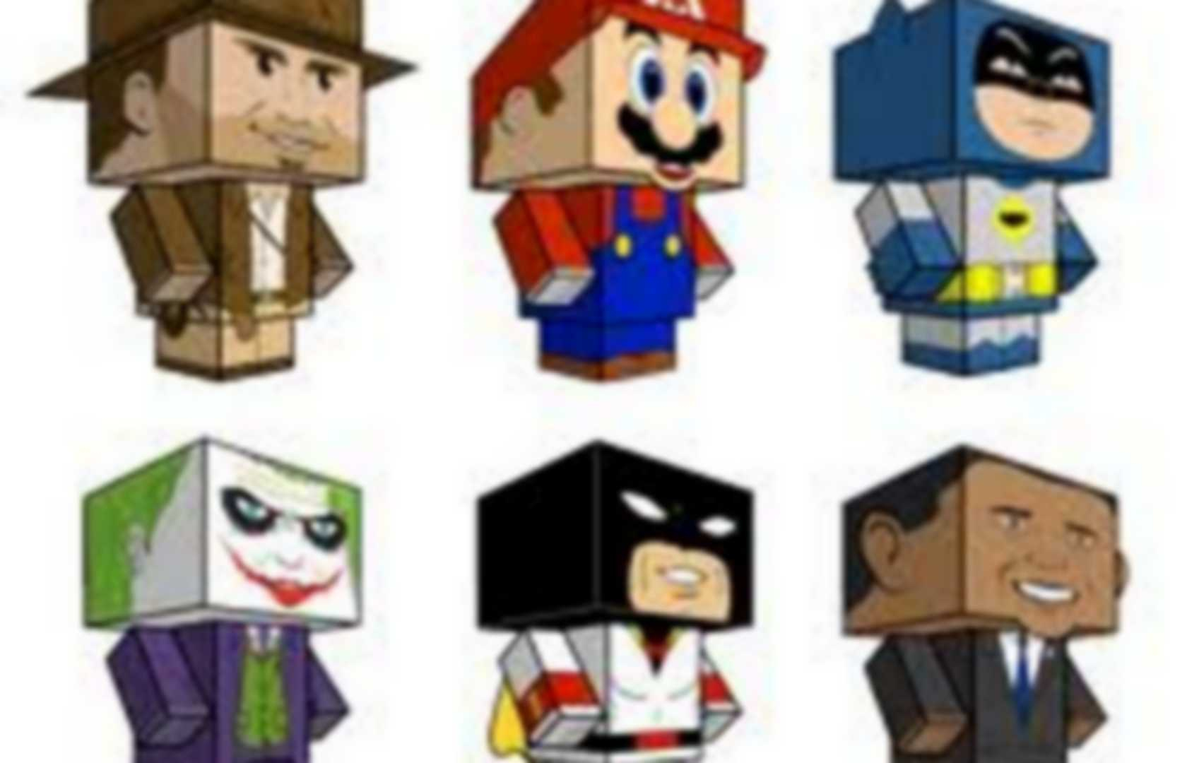 Papertoys Faciles : Minecraft | Pearltrees serapportantà Paper Toy A Imprimer