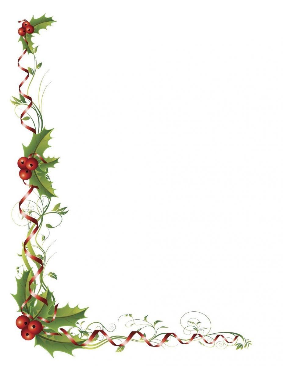 Papier À Lettre Vœux Jour De L'an À Imprimer À La Maison destiné Papier Lettre De Noel