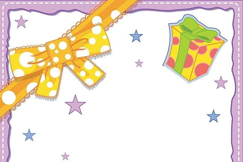 Papiers À Lettres Fêtes Et Ballons destiné Papier A Lettre Enfant