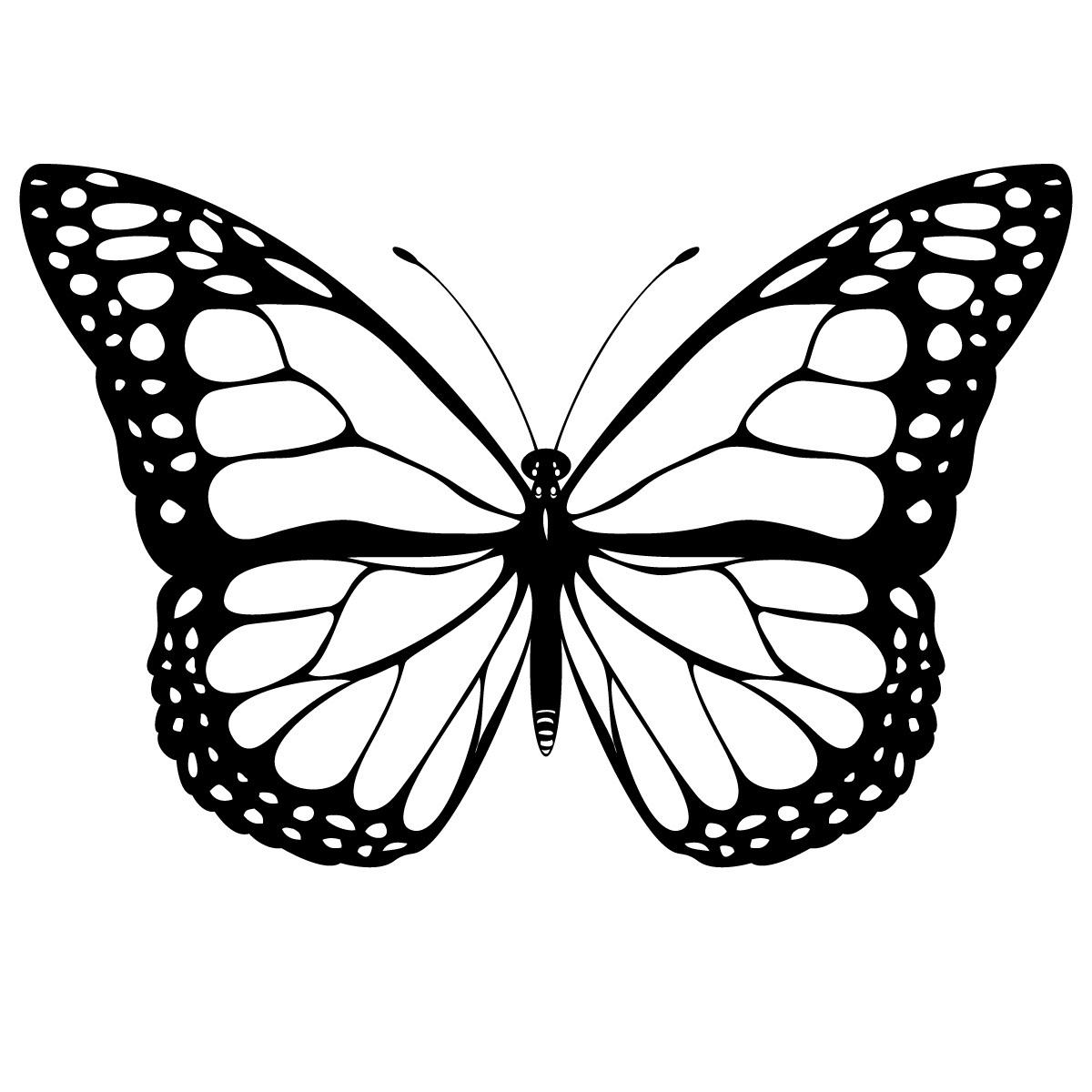 Papillon #2 (Animaux) – Coloriages À Imprimer dedans Dessin A Imprimer Papillon Gratuit
