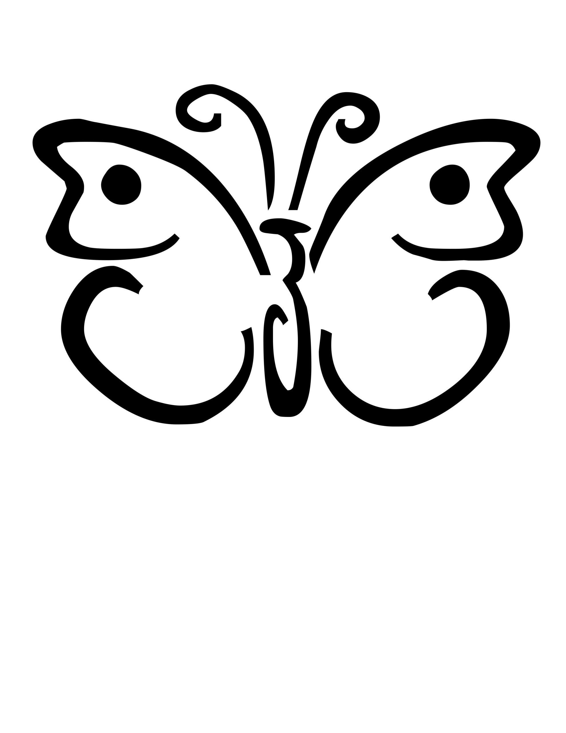 Papillon #39 (Animaux) – Coloriages À Imprimer tout Papillon À Dessiner