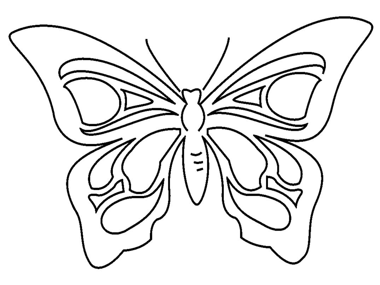 Papillon #40 (Animaux) – Coloriages À Imprimer intérieur Dessin Papillon À Colorier