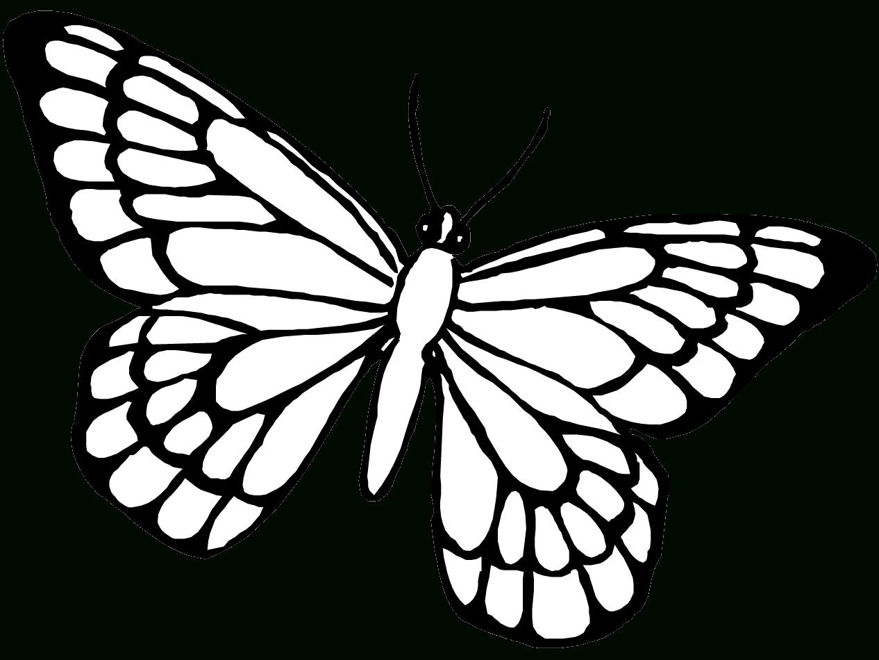 Papillon #85 (Animaux) – Coloriages À Imprimer intérieur Dessin Papillon À Colorier
