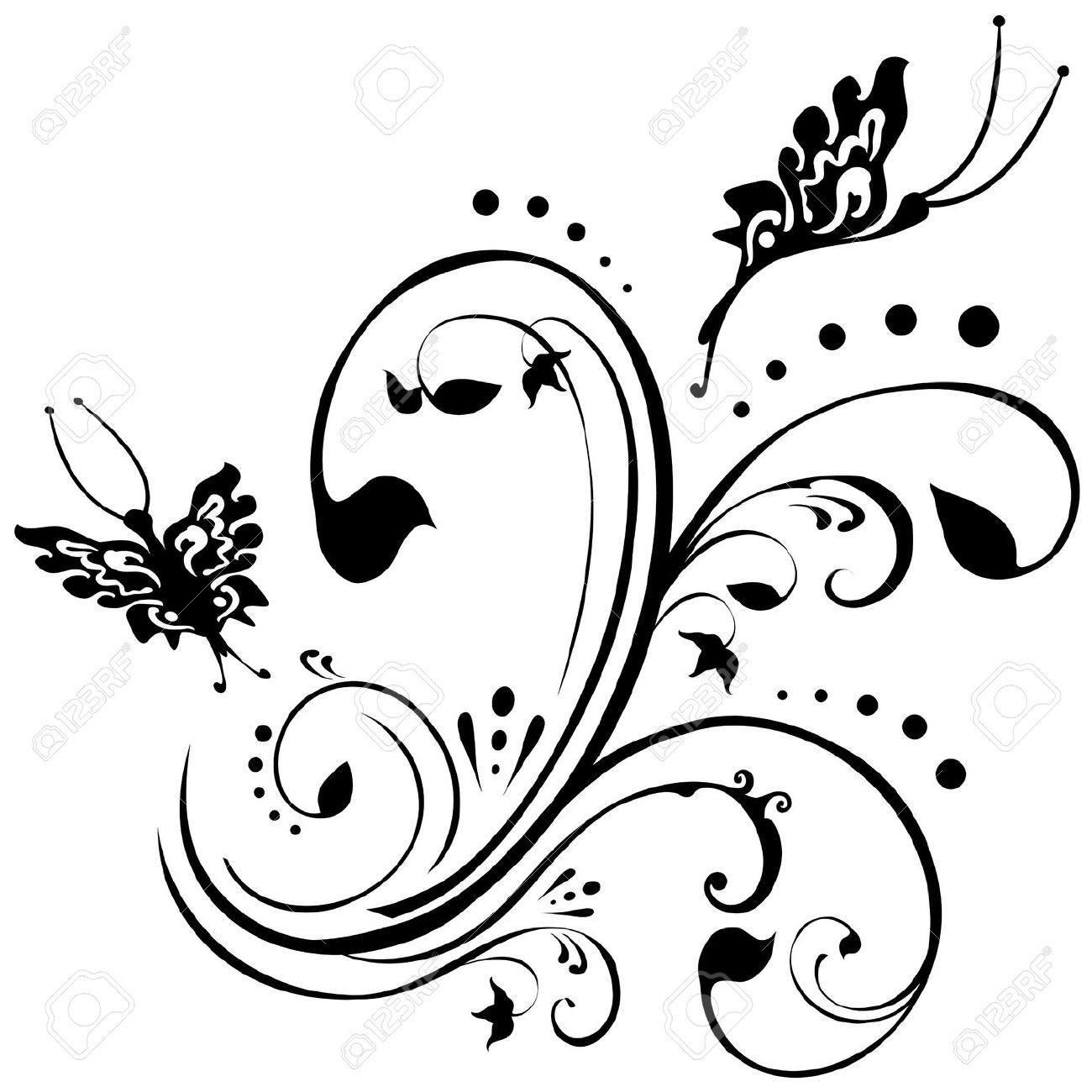 Papillon Clipart Noir Et Blanc – Clipartfox Par Rapport À à Papillon À Dessiner