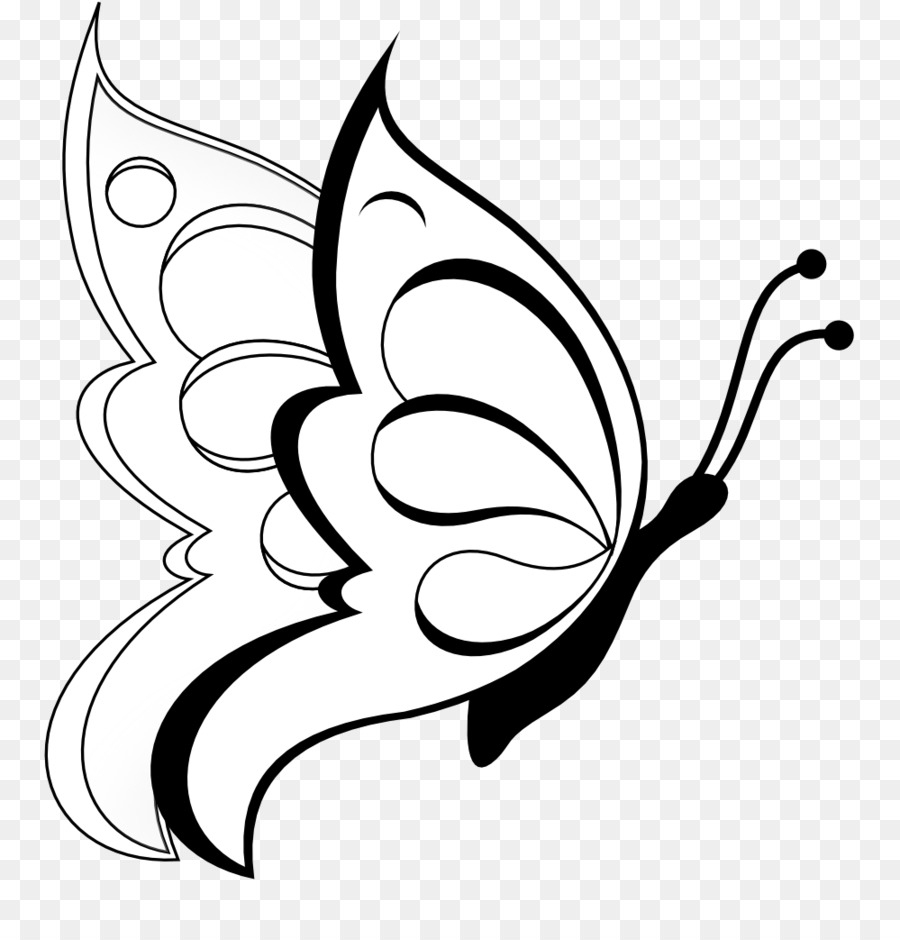 Papillon, Dessin, Lart En Ligne Png - Papillon, Dessin, Lart pour Papillon À Dessiner