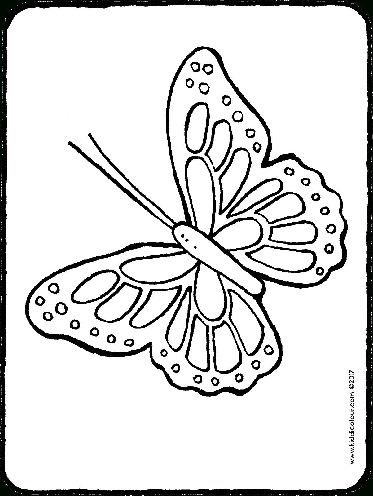 Papillon - Kiddicoloriage dedans Dessin Papillon À Colorier