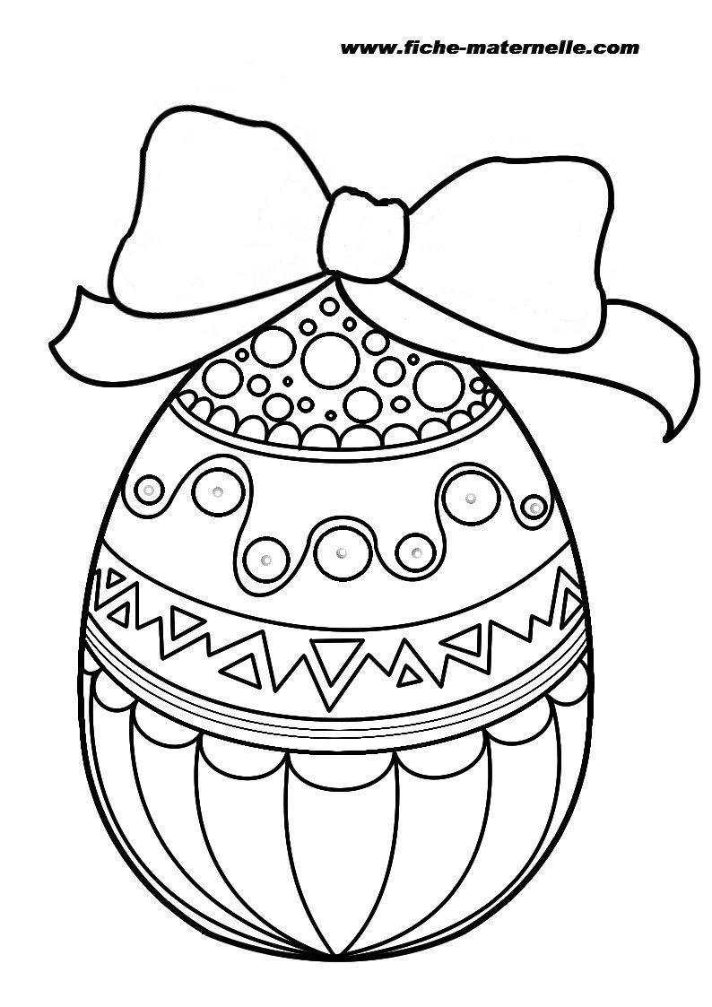 Pâques #101 (Fêtes Et Occasions Spéciales) – Coloriages À serapportantà Dessin Pour Paques
