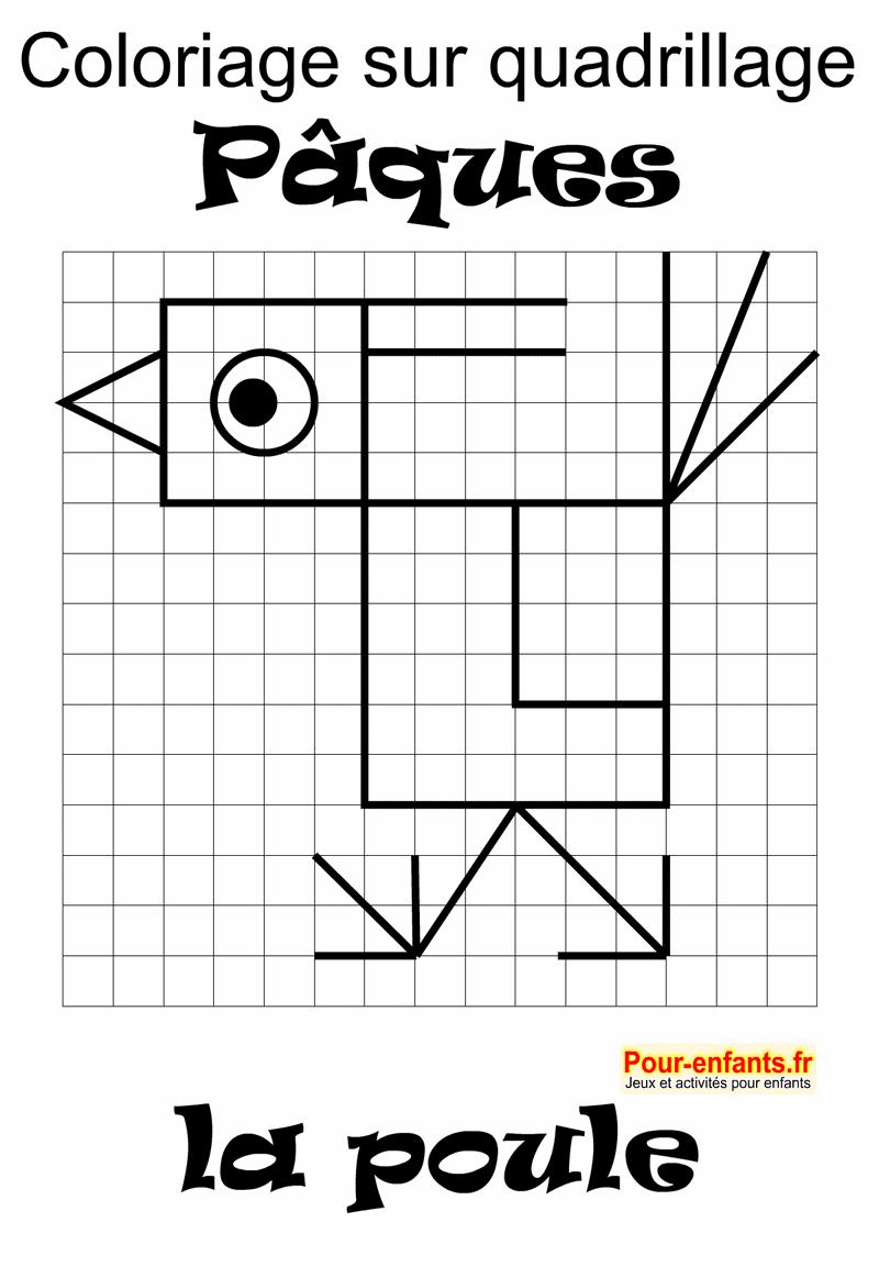 Pâques 2018 Date Jeux À Imprimer Maternelle Quadrillage avec Jeux Mathématiques À Imprimer