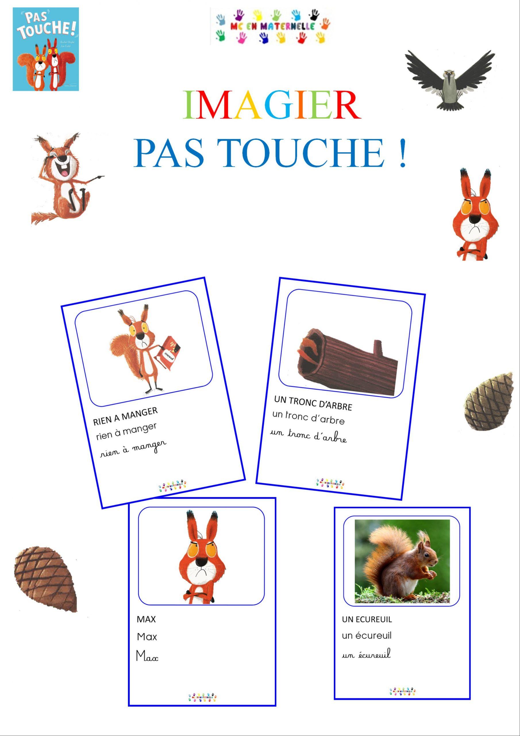 Pas Touche ! : Imagier – Mc En Maternelle dedans Imagier Noel Maternelle