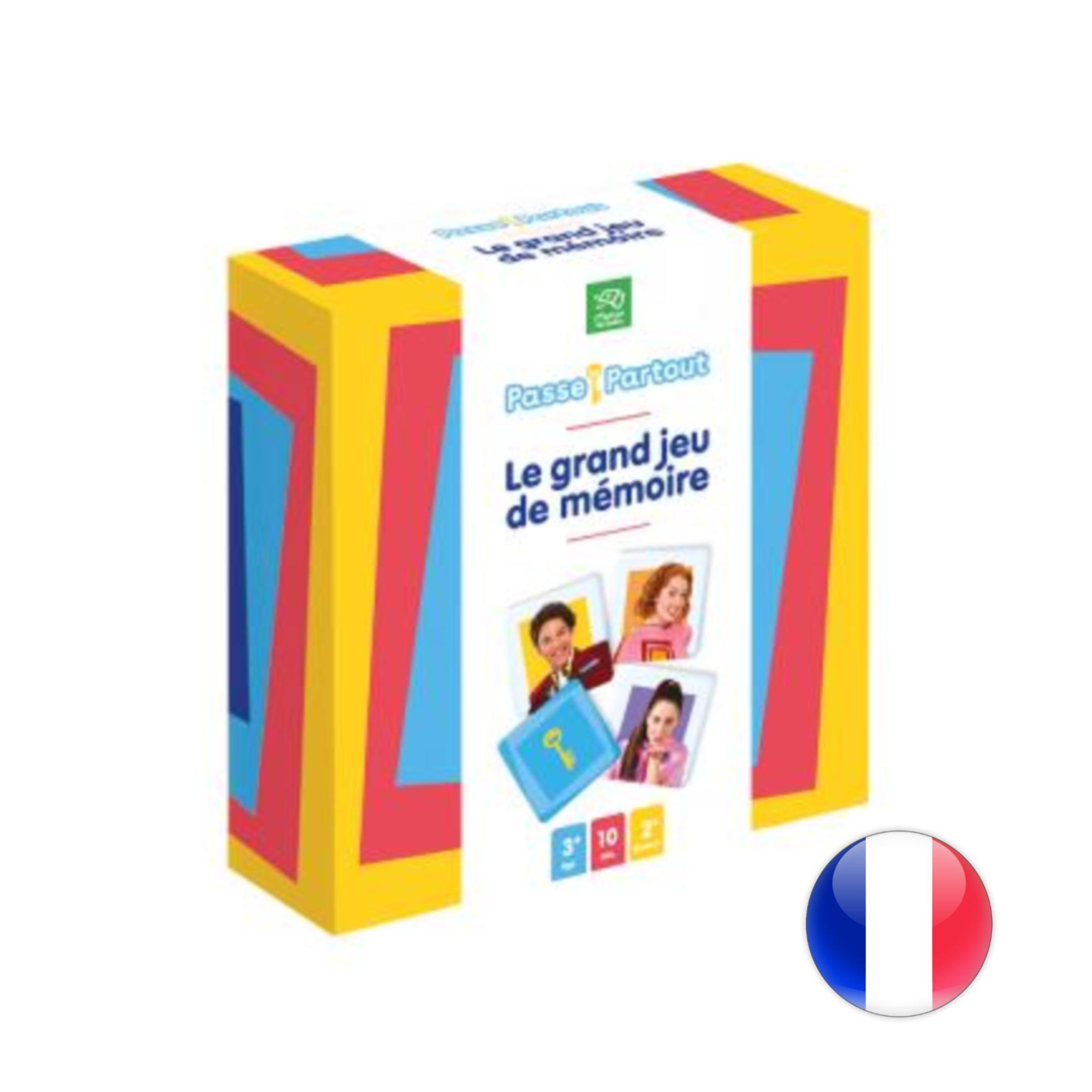 Passe-Partout : Jeu De Mémoire concernant Jeux De Memoire Gratuit Pour Enfant
