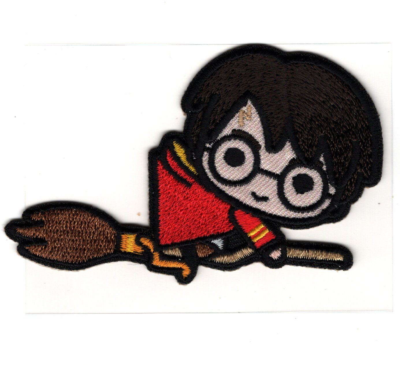 Patch Ecusson Thermocollant Harry Potter Sur Son Balai 5 X 8 Cm destiné Dessin D Harry Potter