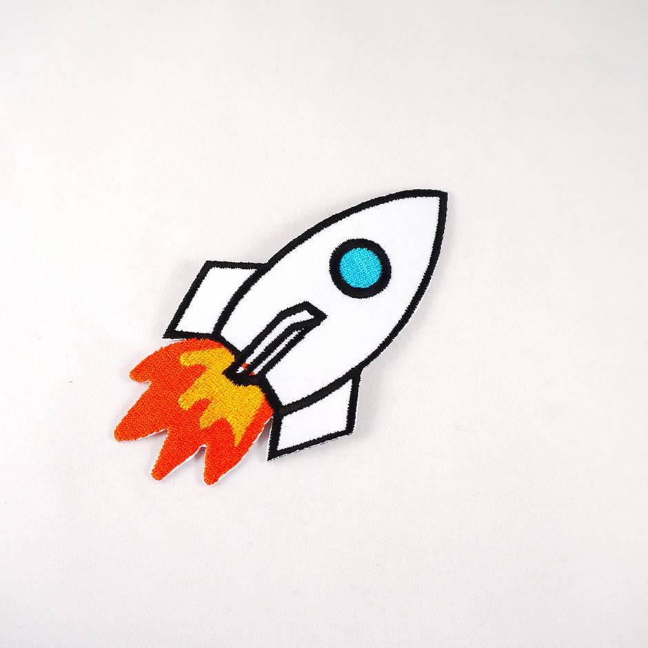 Patch Fusee - Sur Le Nuage De Meije encequiconcerne Fusée À Imprimer