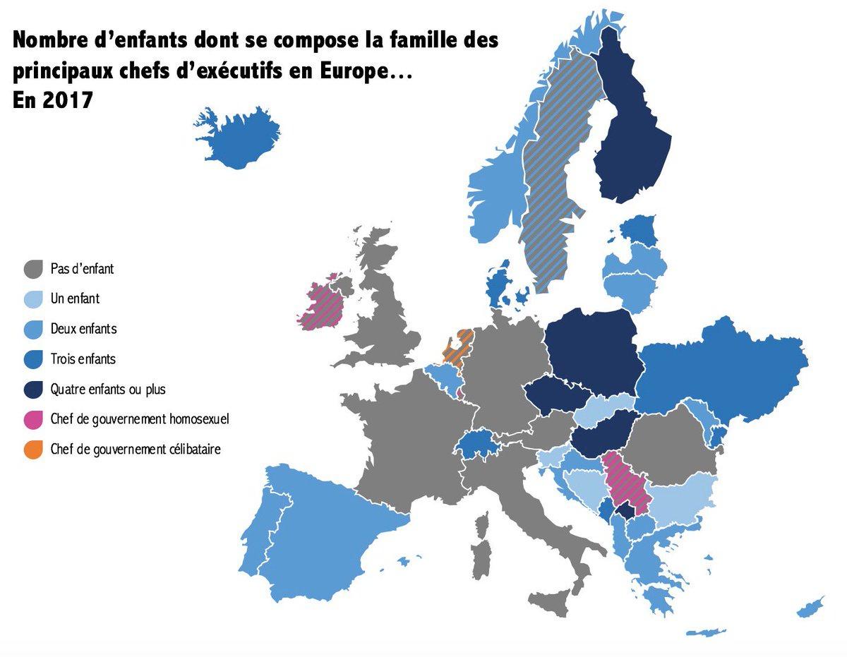 """Paul Cébille В Twitter: """"cette Liste Du Nombre D'enfants Par tout Carte Europe Enfant"""