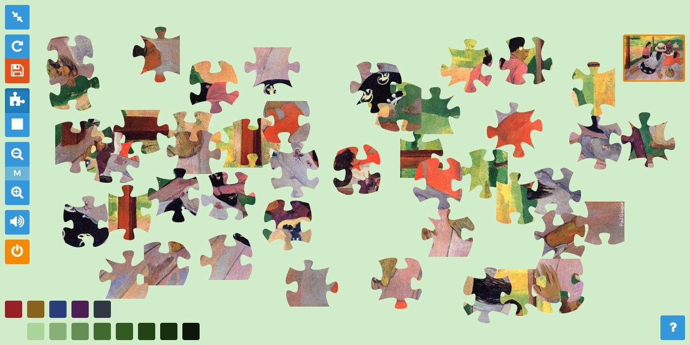 Pauzzle, Le Jeu En Ligne Pour Les Passionnés D'art Et Du avec Jeux De Puzzle Pour Enfan Gratuit
