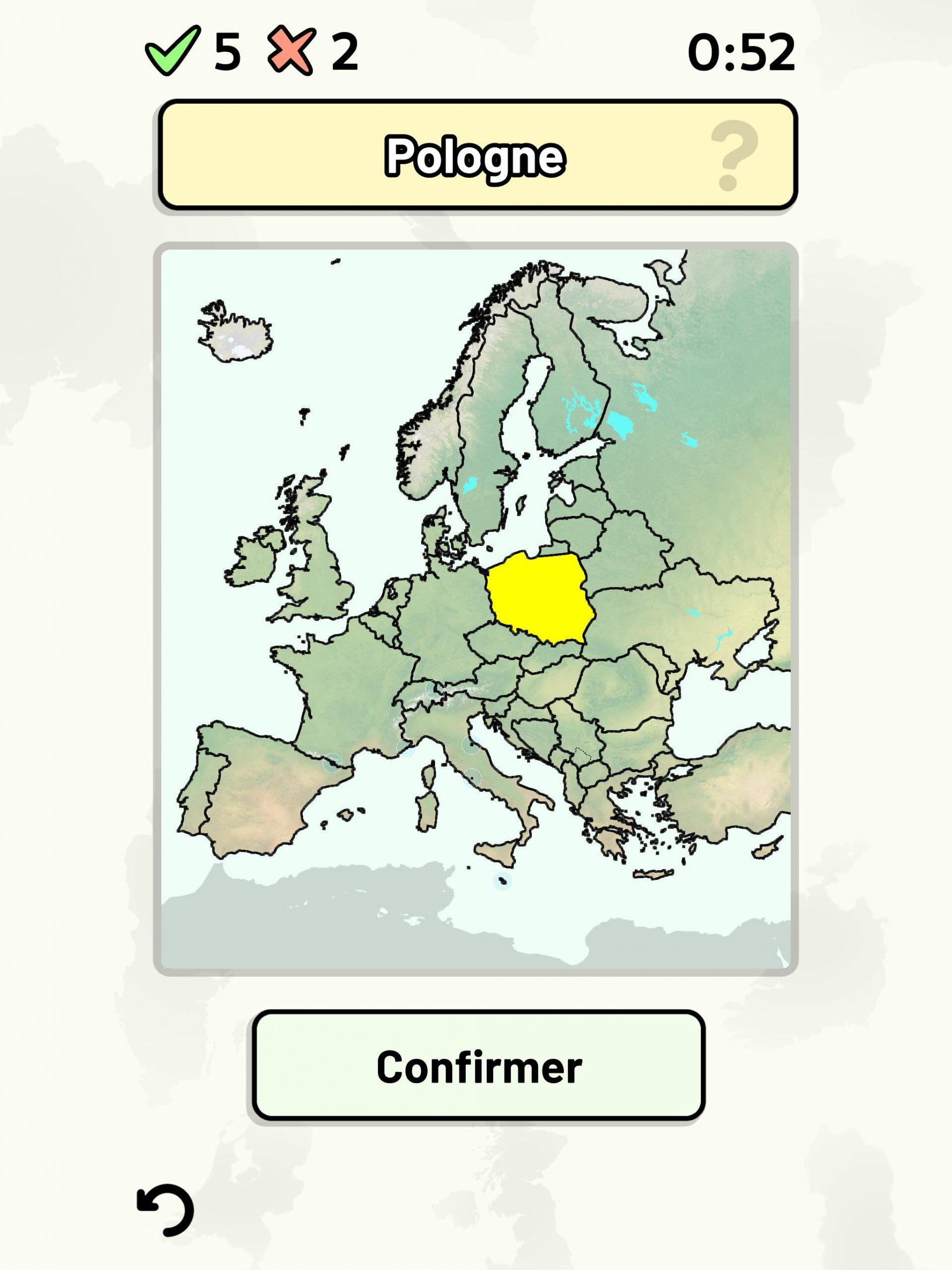Pays D'europe - Quiz: Cartes, Capitales, Drapeaux Pour tout Carte De L Europe Capitales