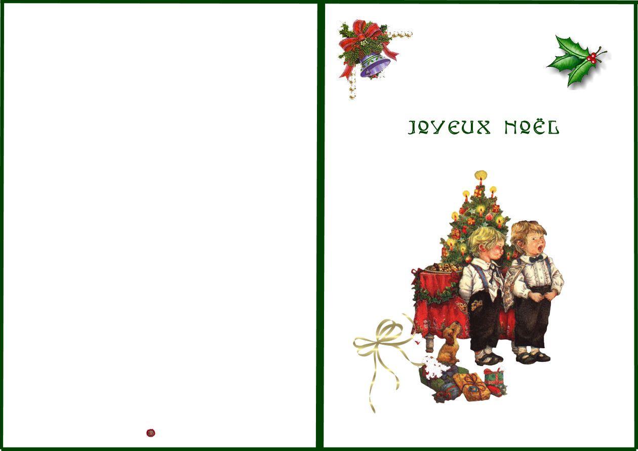 Pdf] Carte Joyeux Noel A Imprimer dedans Carte Joyeux Noel À Imprimer