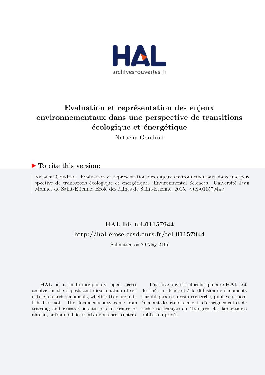 Pdf) Evaluation Et Représentation Des Enjeux concernant Ivre Mots Fleches