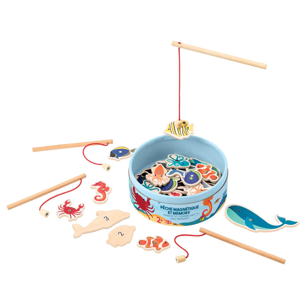 Pêche Magnétique Et Mémory destiné Jeux Bébé 6 Mois En Ligne