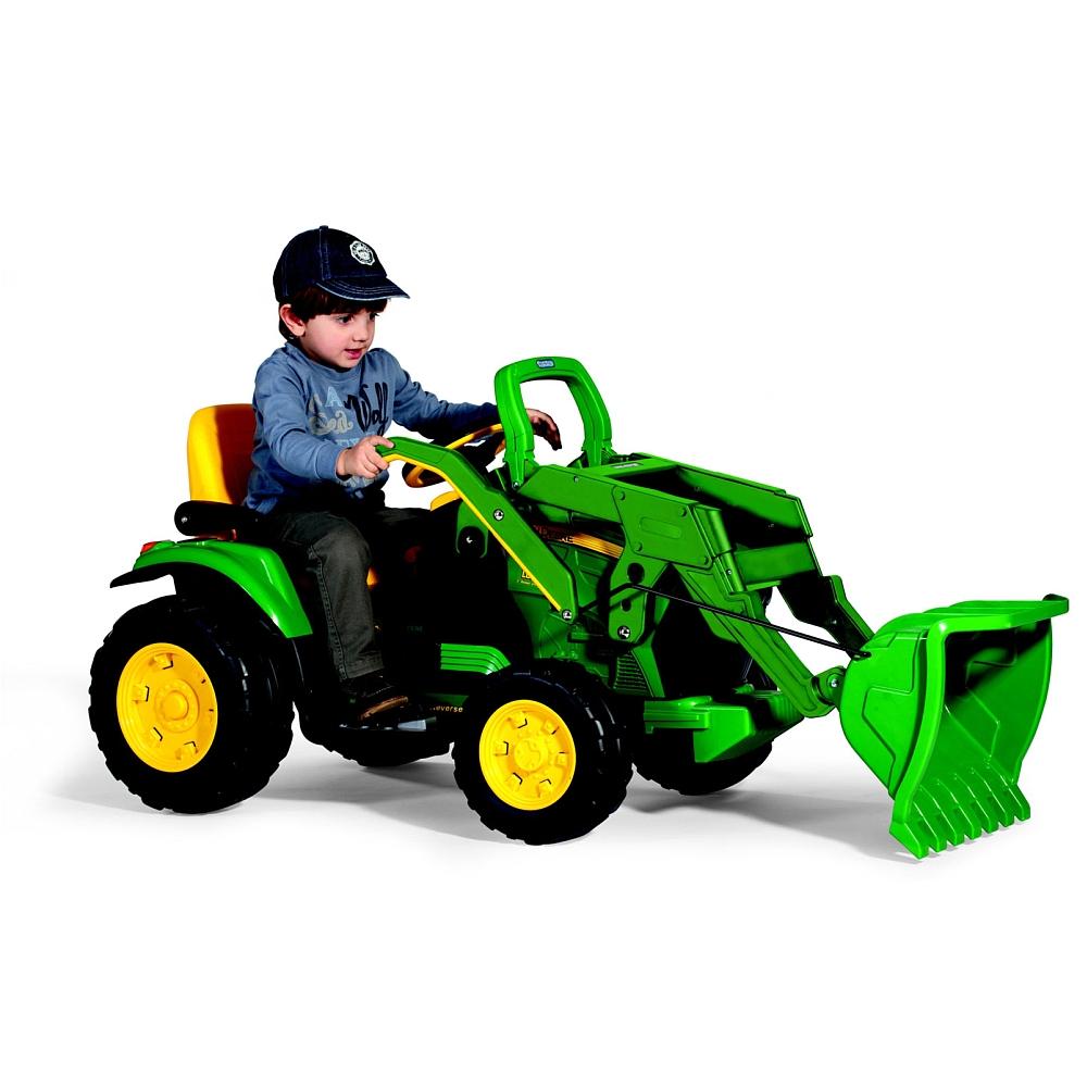 Peg Perego - John Deere Ground Loader Vehicle encequiconcerne Image Tracteur John Deere