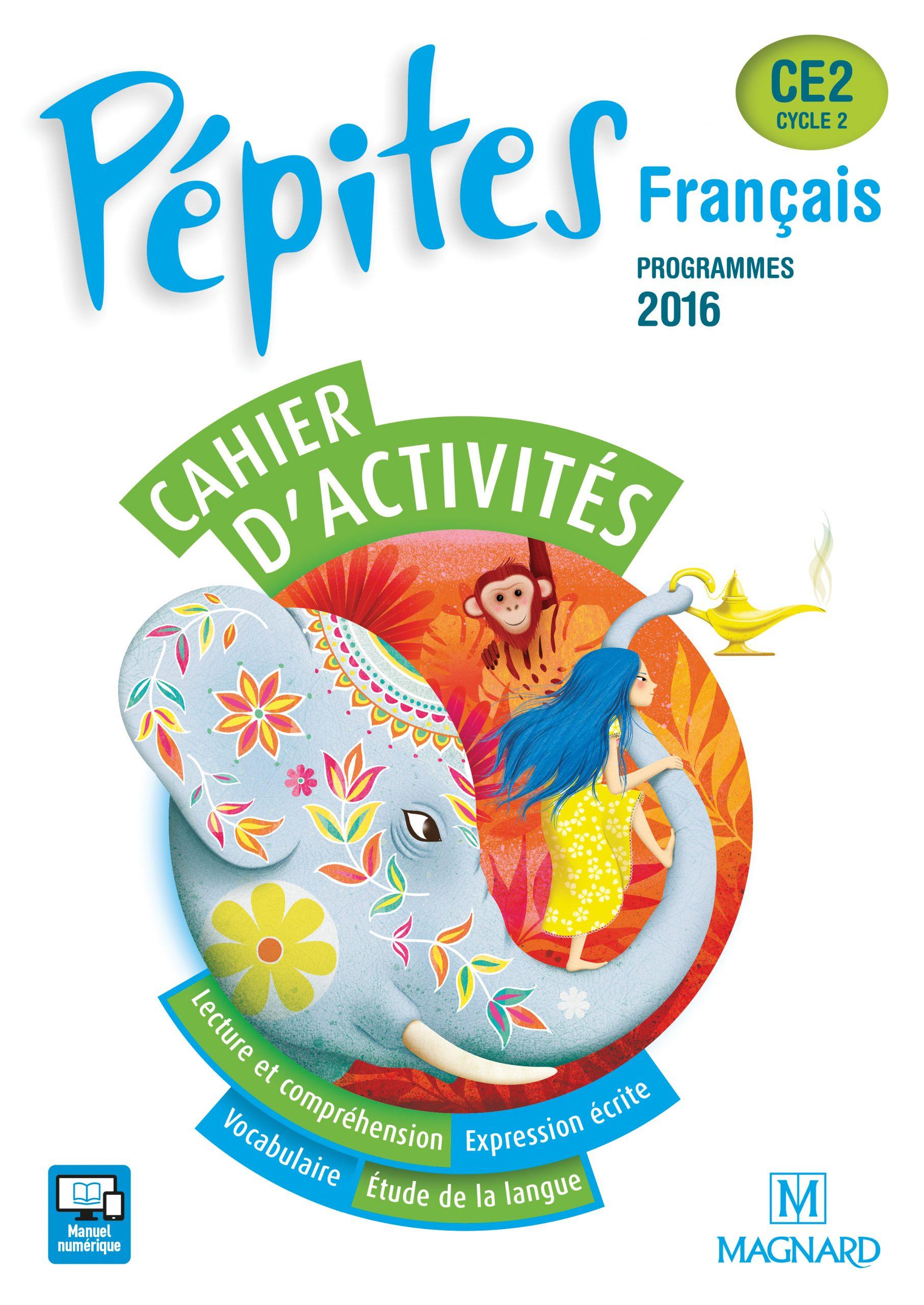 Pépites Ce2 (2017) - Cahier D'activités | Magnard Enseignants avec Cahier D Activité A Imprimer
