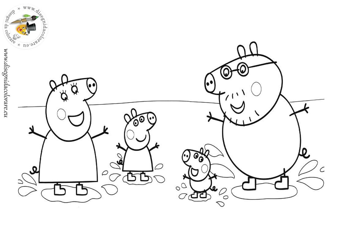 Peppa Pig #60 (Dessins Animés) – Coloriages À Imprimer destiné Peppa Pig A Colorier