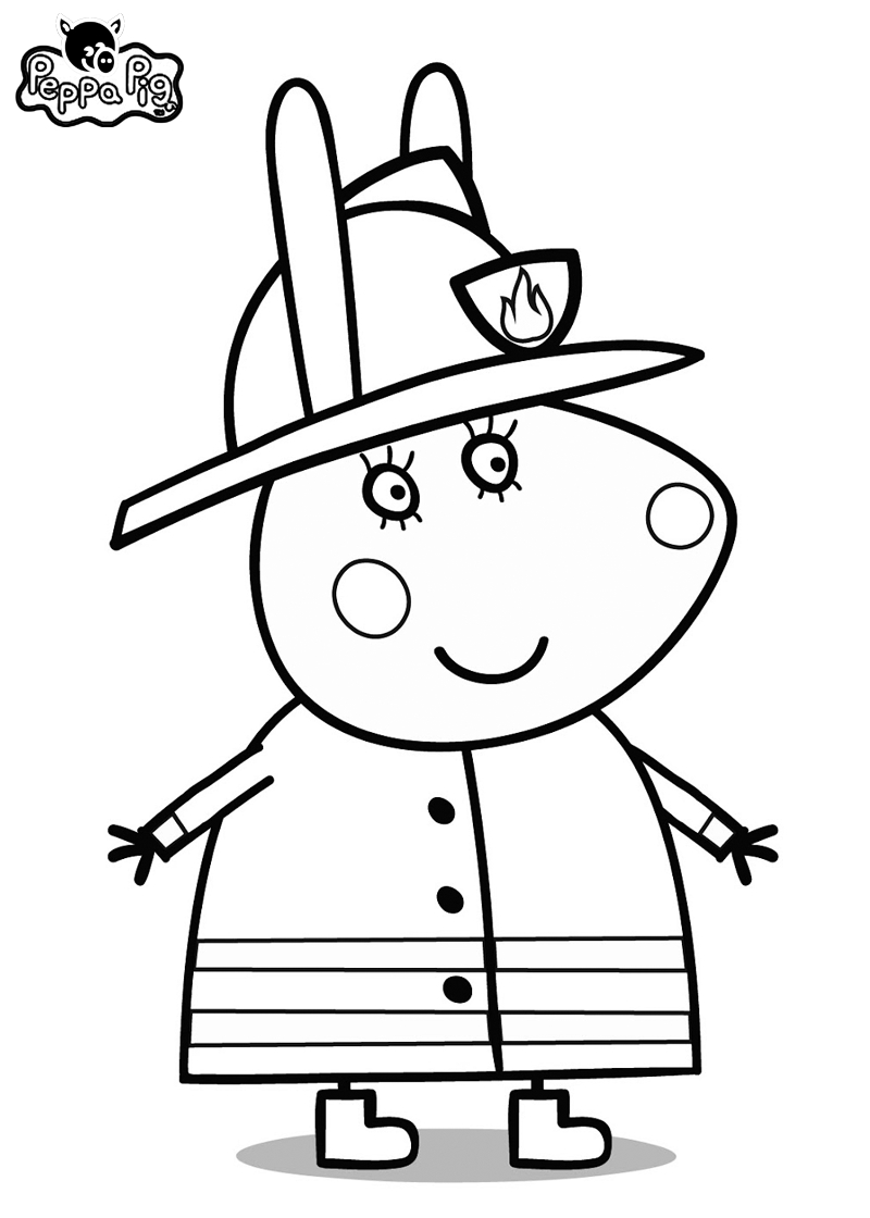 Peppa Pig Coloring Pages | Bratz Coloring Pages | Peppa Pig concernant Peppa Pig A Colorier