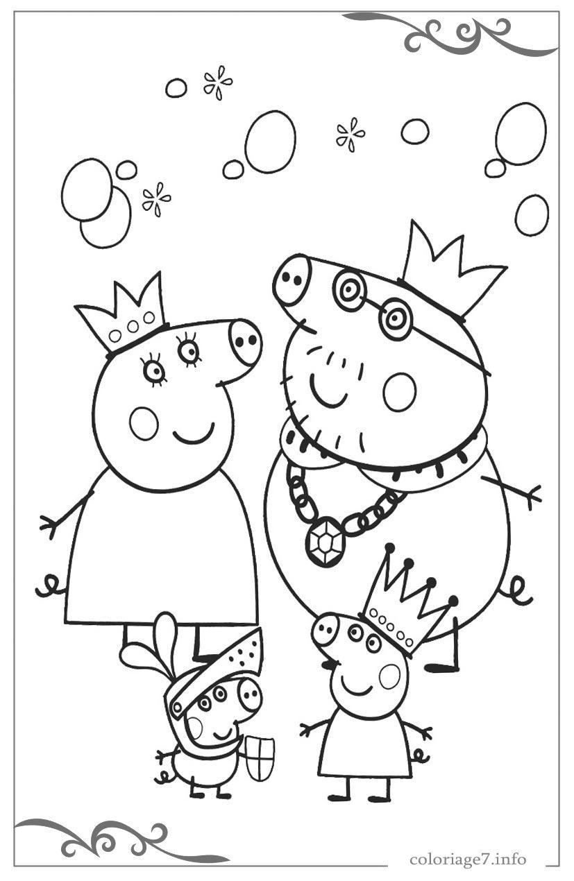 Peppa Pig Jeux De Coloriage En Ligne dedans Dessin À Colorier En Ligne Gratuit