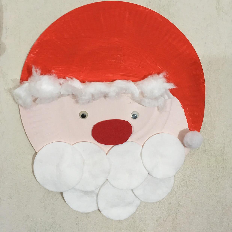 Père Noël En Assiettes [Video] avec Fabrication De Pere Noel