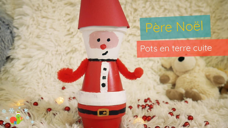 Père-Noël En Terre Cuite à Fabrication De Pere Noel