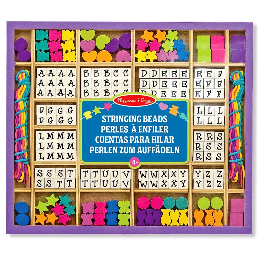Perles À Enfiler - Lettres Et Formes, Colliers À Fabriquer serapportantà Jeux De Lettres Enfants