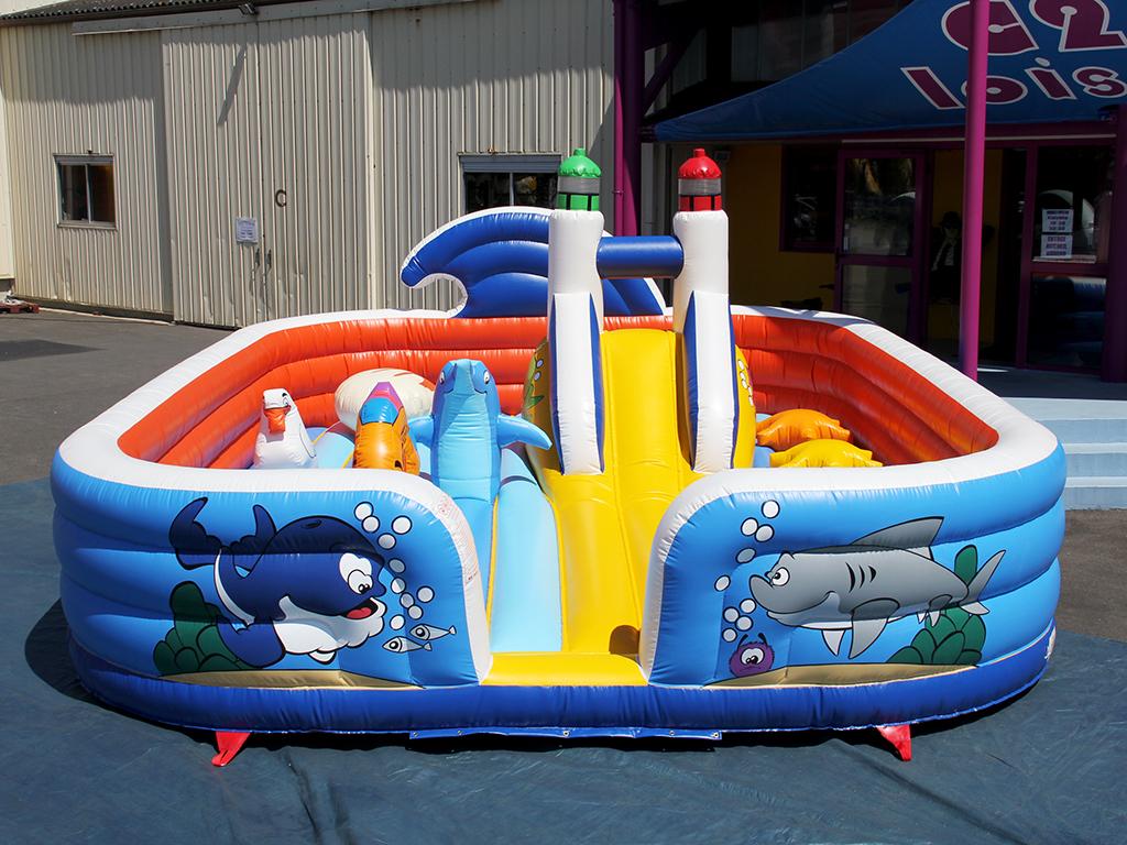 Petit Espace De Jeu Gonflable Pour Les Tout Petits Enfants à Jeux Pour Tout Petit