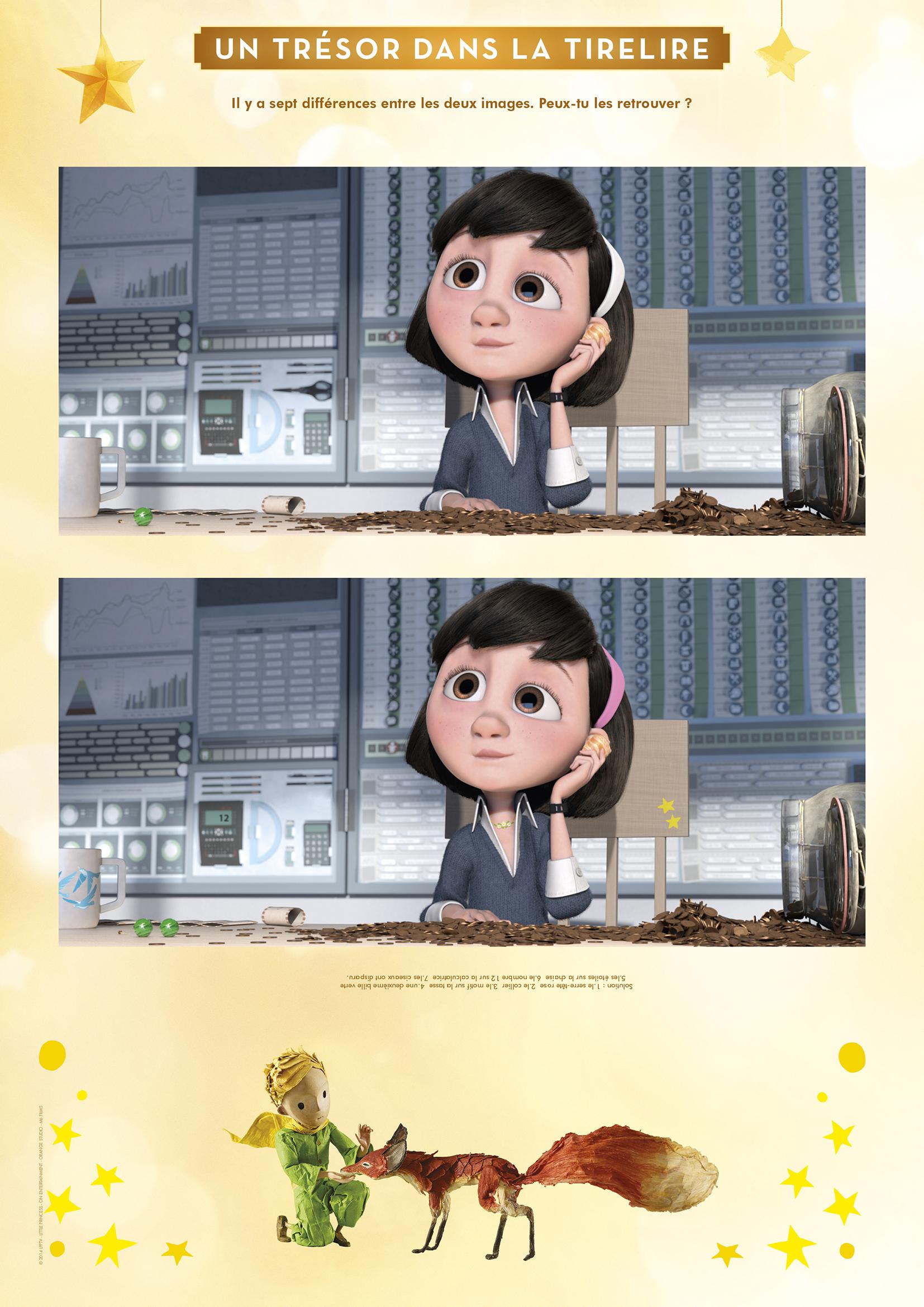 Petit Prince : Le Jeu Des 7 Différences - Momes concernant Jeu Des 7 Différences À Imprimer