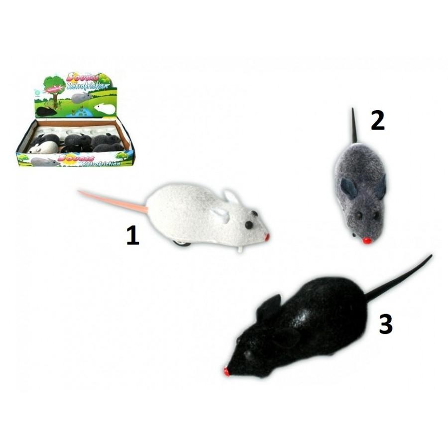 Petite Souris À Friction Couleur 1 Blanc - Jeu Jouet Chat Animal - 607 encequiconcerne Jeux De La Petite Souris