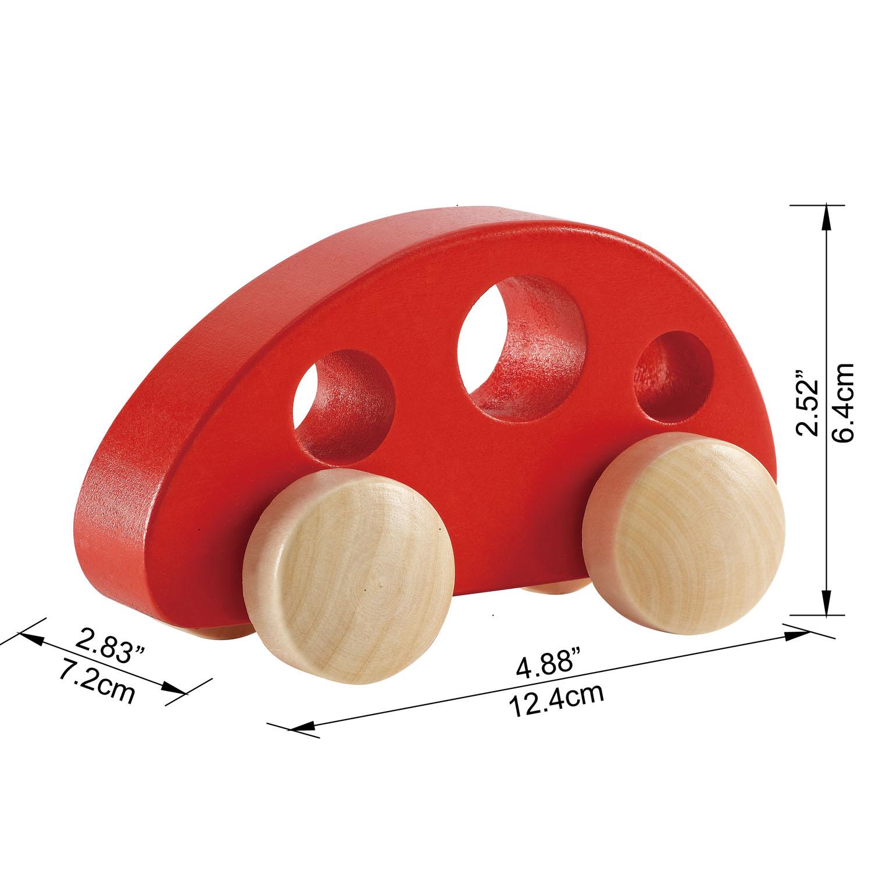 Petite Voiture Rouge | E0052 | Hape Toys à Jeux De Petite Voiture
