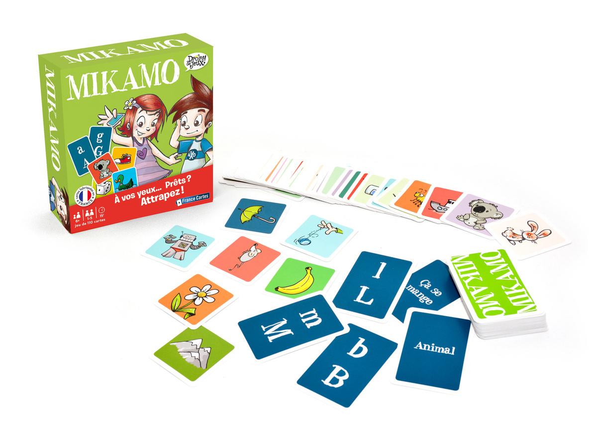 Petites Astuces De Maman !: Mikamo : Jeu De Rapidité Pour tout Jeux Pour Apprendre L Alphabet