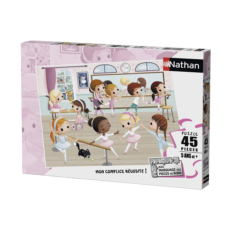 Petites Ballerines - 45 Pièces Nathan intérieur Puzzle 5 Ans En Ligne