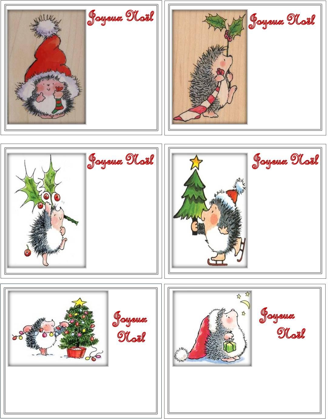 Petites Cartes Joyeux Noël  - Flânerie Au Fil Des Saisons intérieur Carte Joyeux Noel À Imprimer