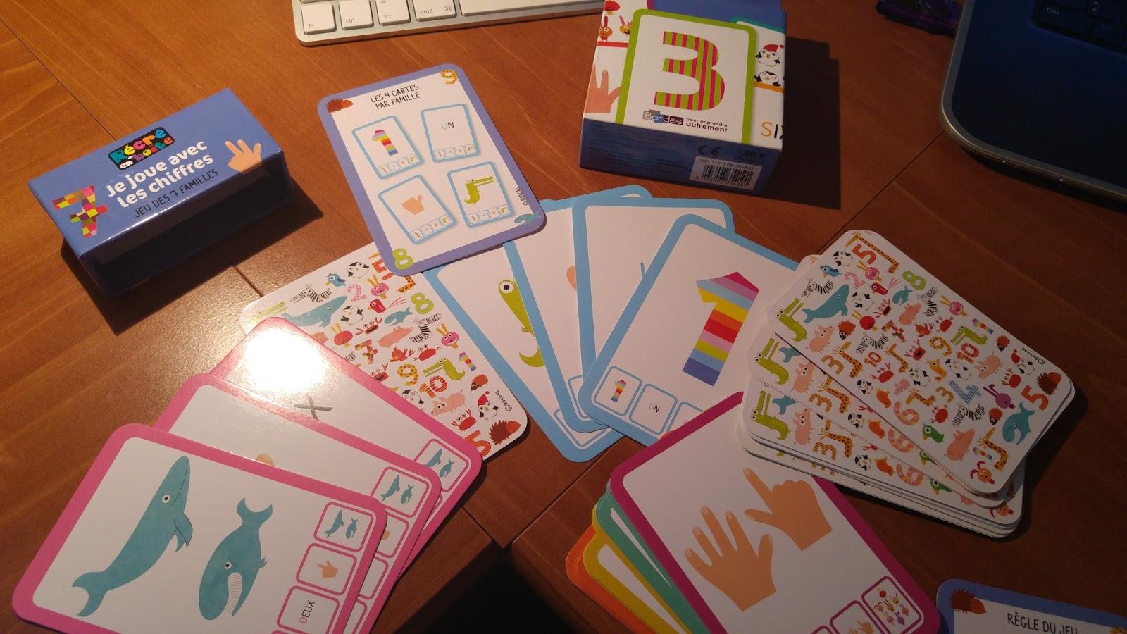 Petits Jeux Collection Récré En Boite - Le Petit Cartable De intérieur Jeux Avec Des Nombres