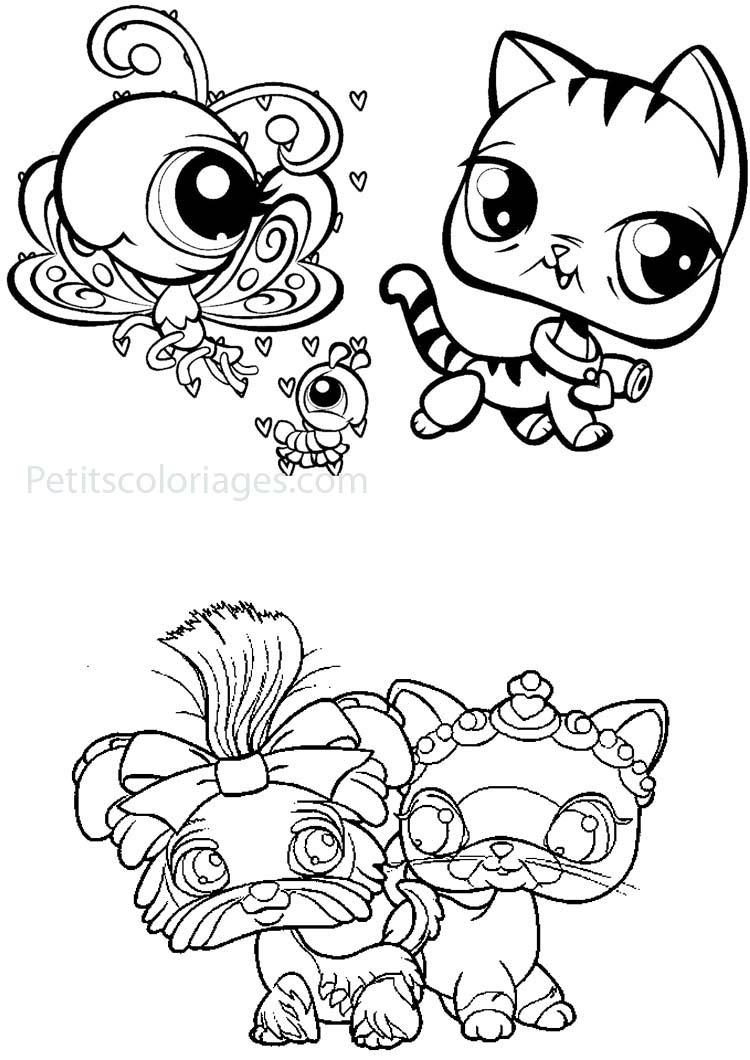 Petshop To Download For Free - Petshop Kids Coloring Pages concernant Dessin De Petshop