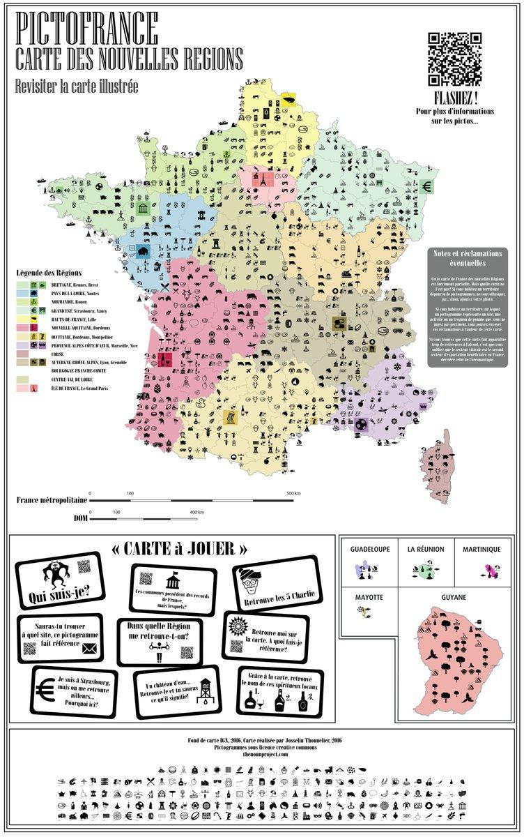 Pictofrance Hashtag On Twitter à Carte De France Nouvelle Region