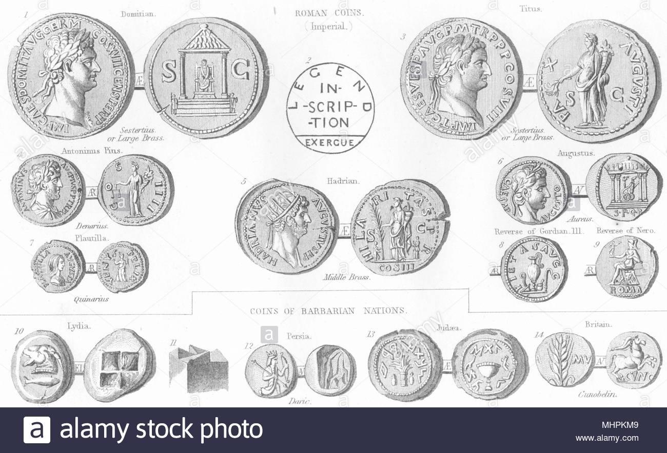 Pièces De Monnaie. Des Pièces En Euros, Monnaies Romaines destiné Pièces Euros À Imprimer