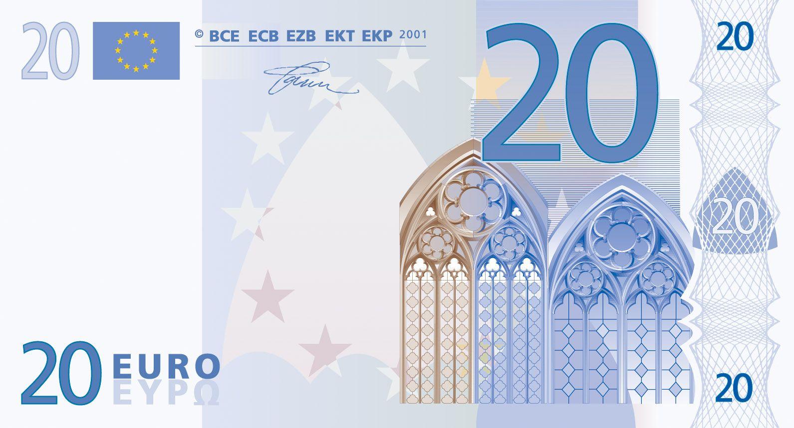 Pin En Billet Magique avec Billet Euro A Imprimer