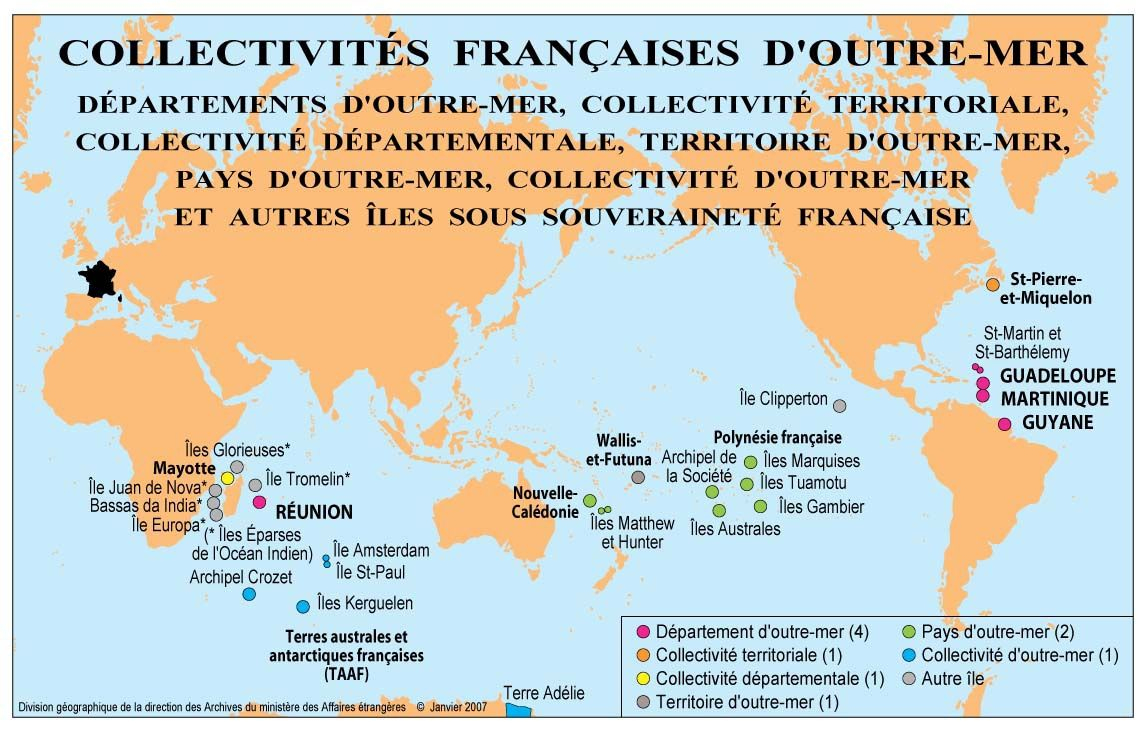 Pin On Maps | Administrative concernant France Territoires D Outre Mer
