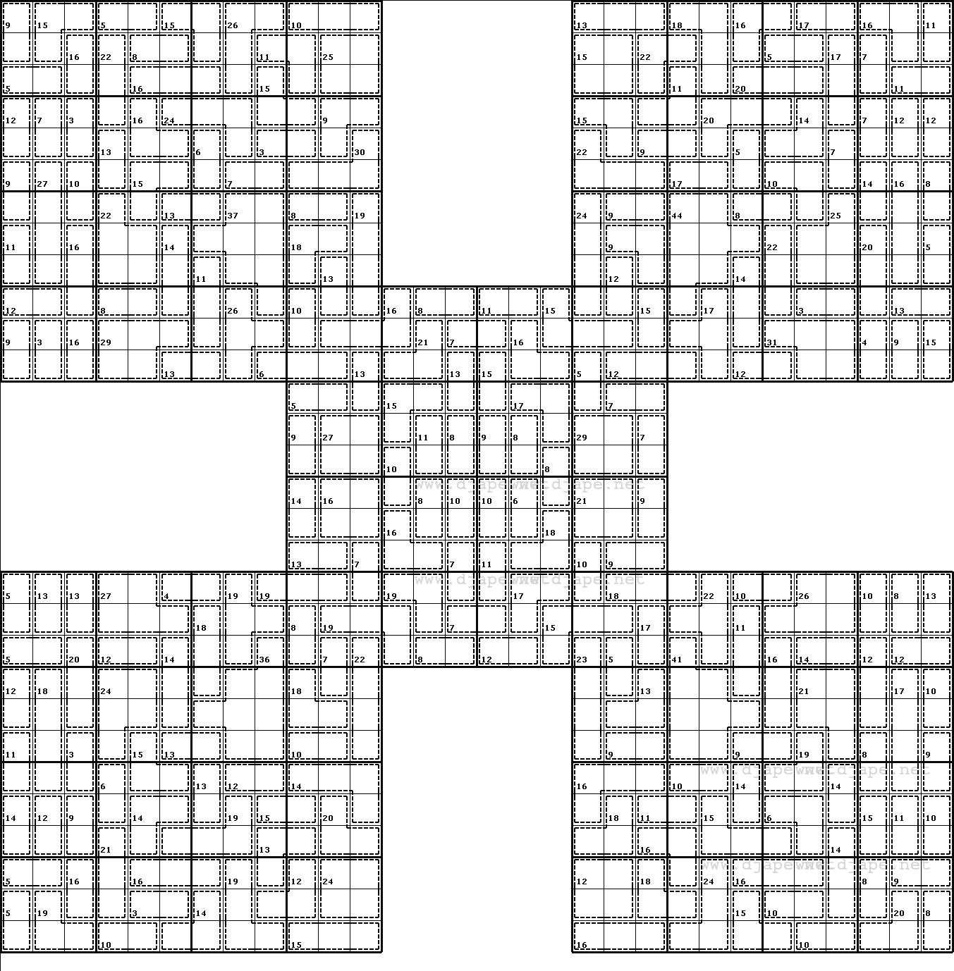 Pin On Sudoku destiné Sudoku A Imprimer