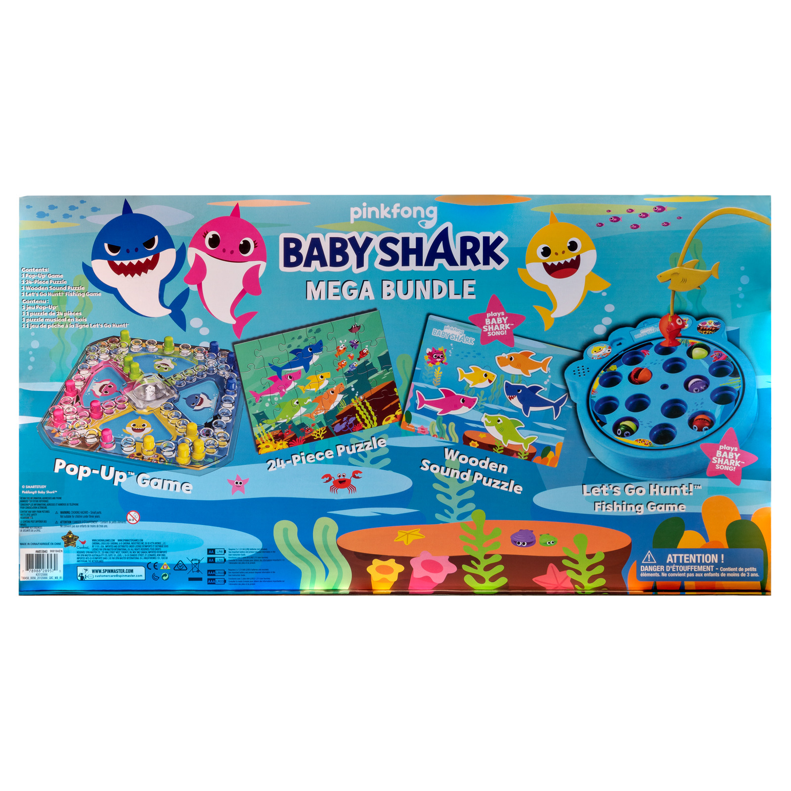 Pinkfong Baby Shark Mega Bundle With Puzzles And Games For destiné Puzzle 5 Ans En Ligne