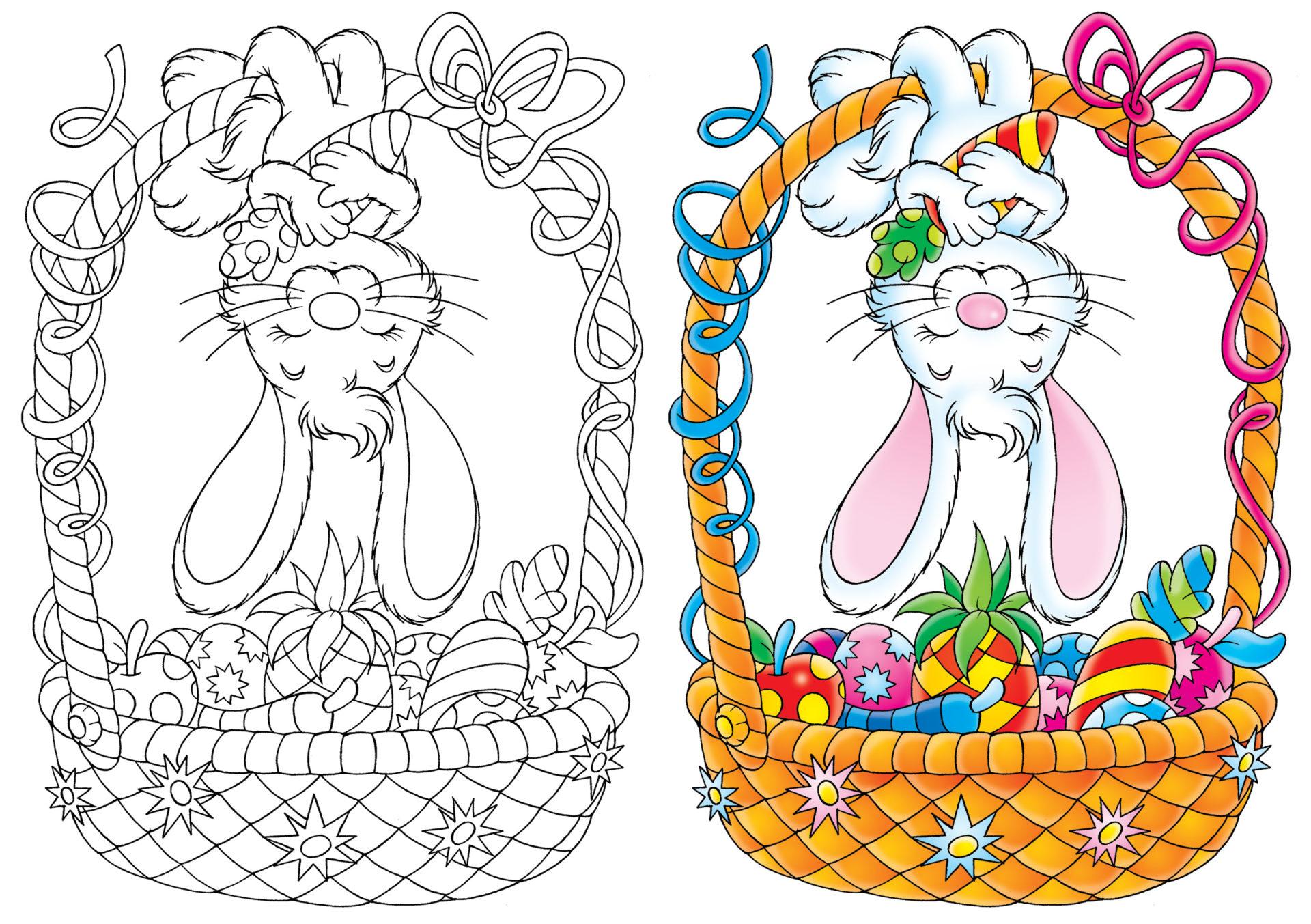 Pinterest Coloriages De Pâques Gratuits À Imprimer - Un Max concernant Creche A Imprimer