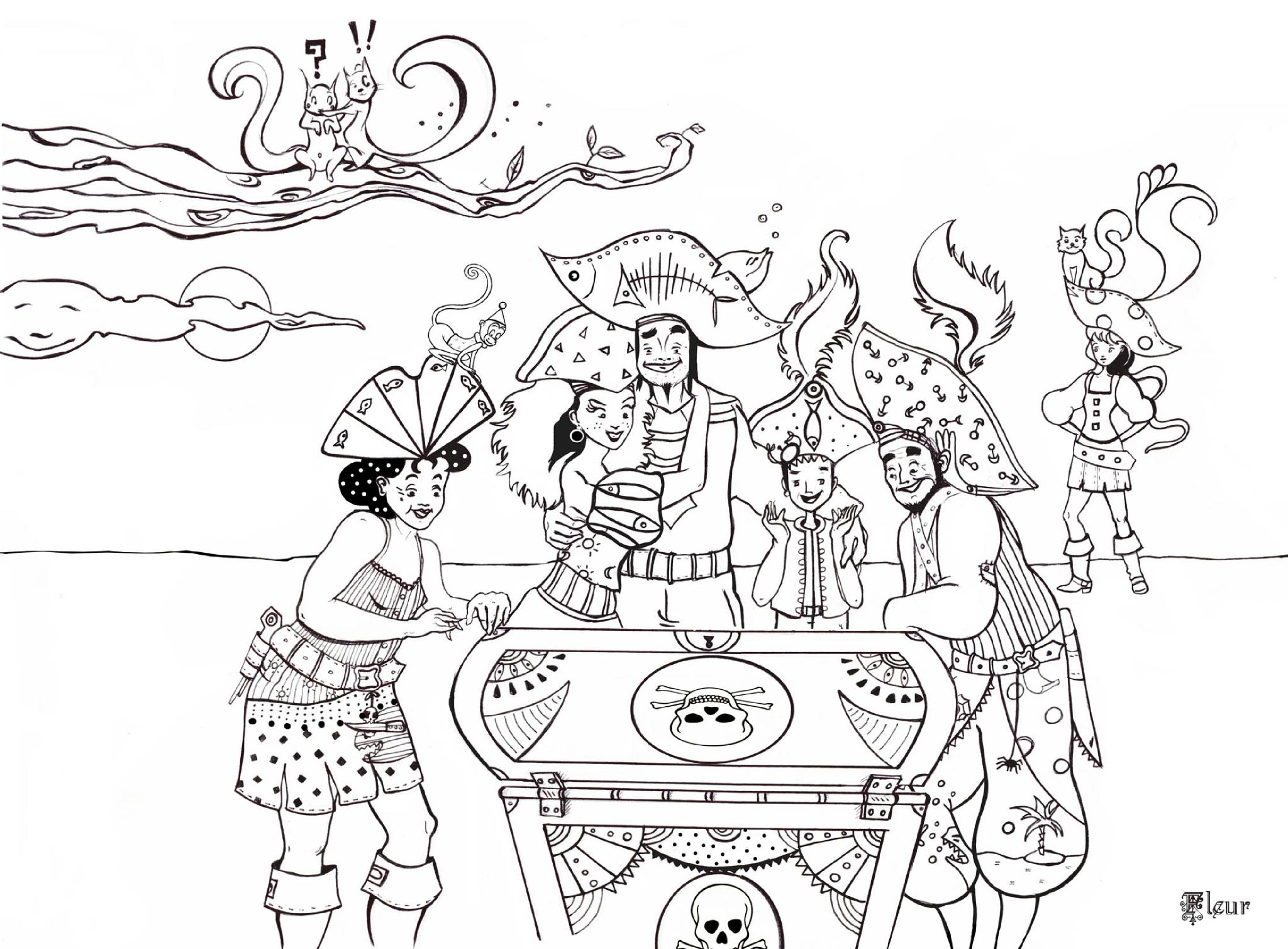 Pirates 1 - Coloriage Garçons - Coloriages Pour Enfants serapportantà Dessin A Imprimer De Pirate