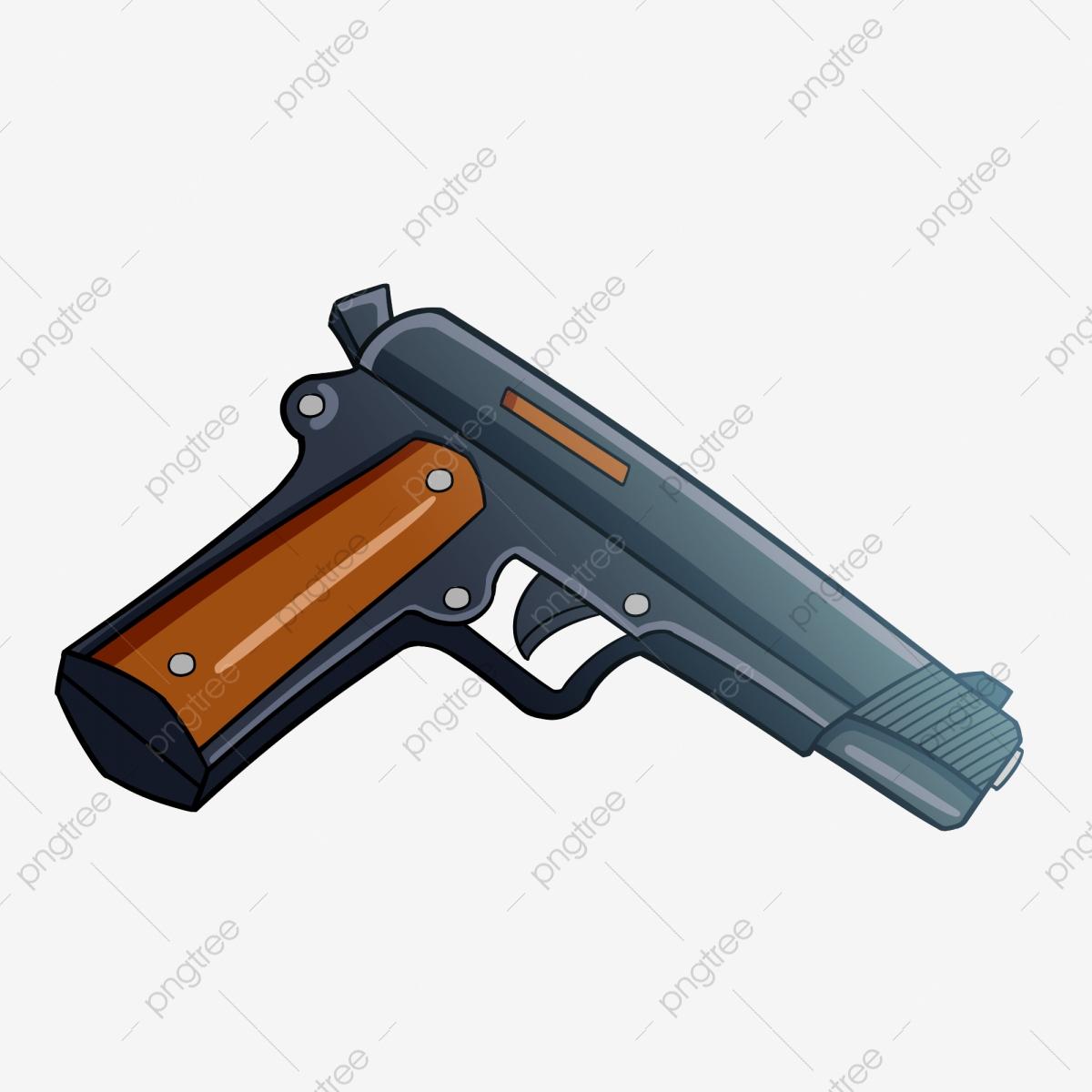 Pistolet Militaire Pistolet De Dessin Animé Pistolet Semi pour Comment Dessiner Un Fusil