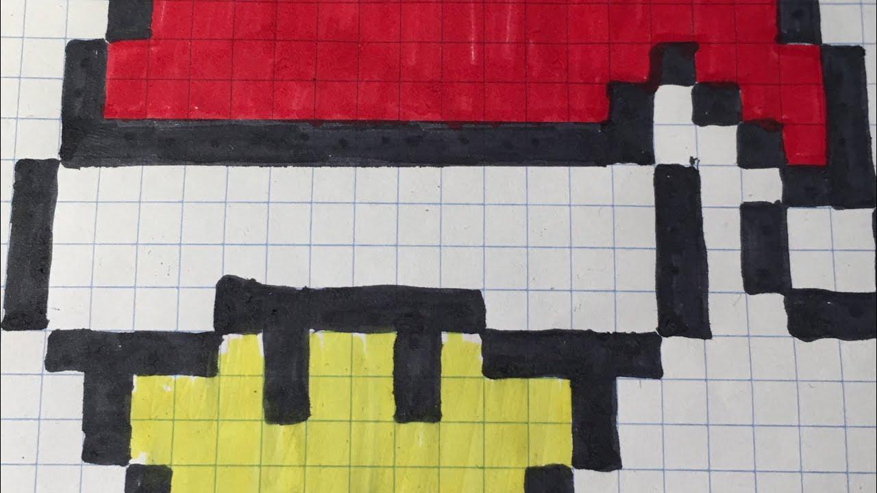 Pixel Art Champignons De Noël 🤶 - destiné Pixel Art Pere Noel