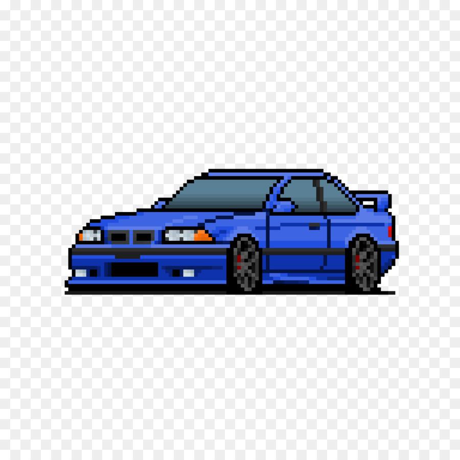 Pixel Art Clipart - Car, Pixel, Blue, Transparent Clip Art à Voiture Pixel Art